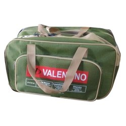 涤纶绿色旅行袋,尺寸/尺寸:20