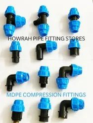 Manufacturing BERIWAL MDPE Compression Pipe Fittings