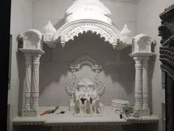 Pure White Marble Temple