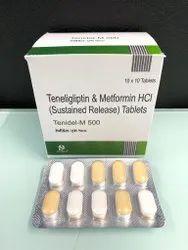 Teneligliptin 20mg and Metformin 500mg Tablets