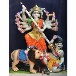 Marble Durga Mata Statue..