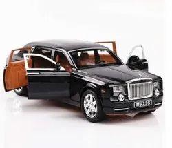 Black SC1069 Rolls Royce Phantom Die Cast Scaled Model Toy Car