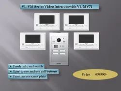 Vl-VM Series Combo 4 Bell With 4 Screen 7 Inch