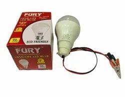 Round 12 W 12V 9W Fury DC LED Bulb