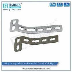 Locking L Buttress Plate 4.5mm/5.0mm