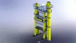 Asphalt Batch Mix Plant Tower For DM Plant -Fabhind