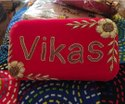Personalized Handmade Name Wedding Clutch Bags & Purse