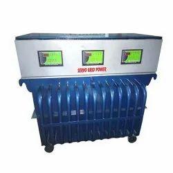 Three Phase Oil Cooled Digital Voltage Stabilizer