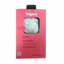 White Finger SoundReflex W5 Wired Earphone