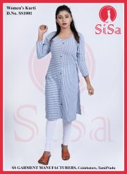Casual Wear Regular Women Designer Kurtis, Wash Care: Handwash