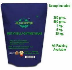 Methylsulfonylmethane Health Supplement
