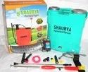 Shaurya Glossy Double Motor With Gun 20 Ltr, For Agriculture, Size: 16 Litre