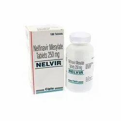Nelfinavir Mesylate Tablets 250 Mg