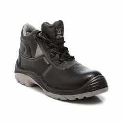 Agarson Hummer HI - Ankle Double Density PU Leather Safety / Industrial Shoes