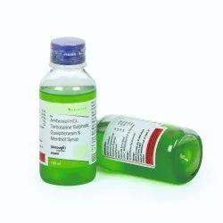Ambroxol 15 Mg Guaiphenesin 50mg Terbutaline 1.25 Mg Menthol 2.5 Mg Syrup