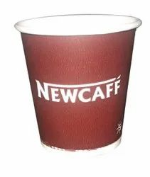 Red Printed 90ML Spectra Paper Cup, For Parties