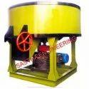 Semi-Automatic Concrete  Pan Mixer