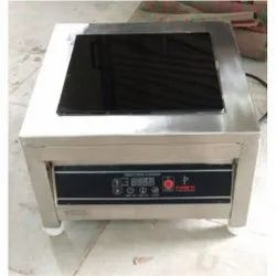 Steel 5kw Commercial Induction Cooktop