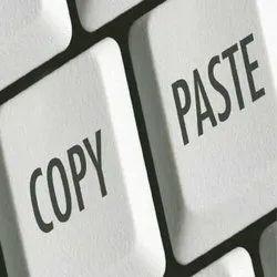 Simple Copy Paste Work