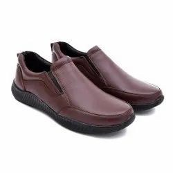 Party Wear Slip On LeeRooy LTS Shoe 107 Brown