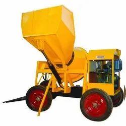 Concrete Mixer With Hopper