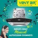 Ventair Innova Music 60 Musical Smart Auto Clean Chimney