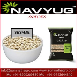 White Sesame Til Seeds, Packaging: Packet, Packaging Size: 1kg