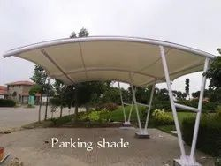 Stainless Steel White Waterproof Parking Shed