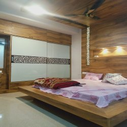 Master Bed Room Interior Design Service