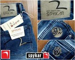 Party Wear Button Mens Denim Jeans, Waist Size: 28-36