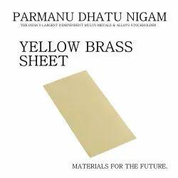 Yellow Brass Sheet