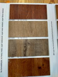 Stone And Wooden Mix Spc Flooring