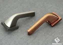 Straight Arm Decent Zink Lever Door Handle-60