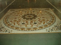 Marble Inlay Floor Design Services, in World Wide