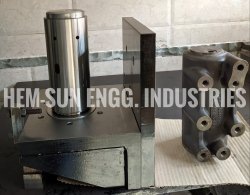 Cylinder Block Machining Fixture, For Industrial