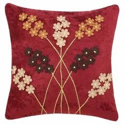 Embroidered Cushion Cover 18x18