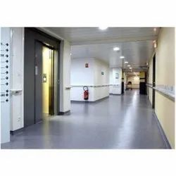Commercial Building Hospital Epoxy Flooring Service, For Indoor