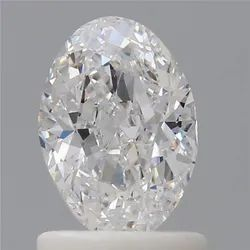 1CT Oval D VVS2 GIA Certified Natural Diamond