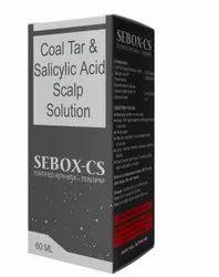 Coal Tar & Salicylic Acid Scalp Solution ( Sebox - CS )