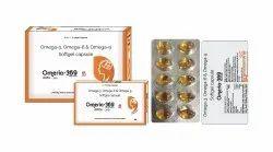 Omega 3 Omega 6 Omega 9 Softgel Capsule