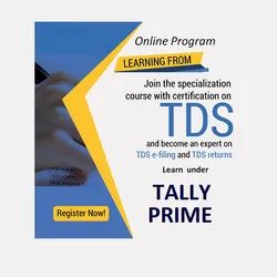 Tally TDS Certification Course
