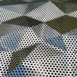 Aluminium Customised Design Perforated Sheet