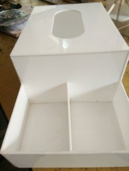 Acrylic Tissue Paper Holder