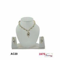 spectrumjaipur Designer Artificial Diamond Necklace Set