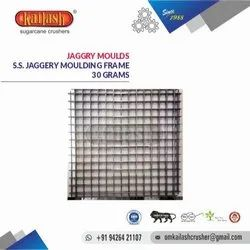 OM KAILASH STAINLESS STEEL JAGGERY MOULD 30 GRAMS