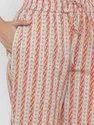 Jaipur Kurti Women Rust Printed Straight Cotton Sleepwear
