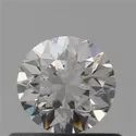 0.50ct Round F VVS1 Natural HPHT GIA Certified Natural Diamond