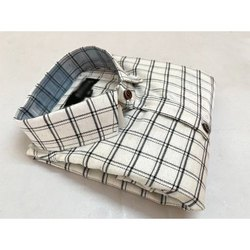 SDG Casual Wear Men Cotton Check Shirt