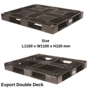 HDPE Double Deck Cargo Export Pallets