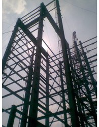 Mild Steel Column Ms Structural Fabrication Services